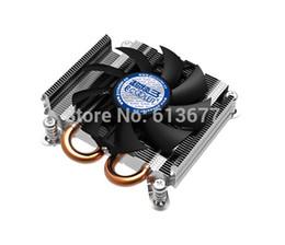 Wholesale Cpu Am3 - Wholesale- 4pin fan, 2 heatpipe, 27mm height for HTPC mini case, ultra-thin, for AMD FM2 FM1 AM3+, CPU fan, CPU cooler, PcCooler S85A