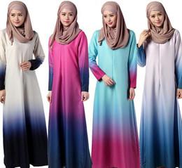 Wholesale Woman Inside Clothes - muslim chiffon dress women dresses islamic clothes arabia cotton clothing inside mercerizing long dress women D150