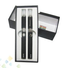 Wholesale Double Clearomizer - Wholesale Factory Price EVOD Starter Kit With MT3 Clearomizer EVOD Kit with best price DHL Free