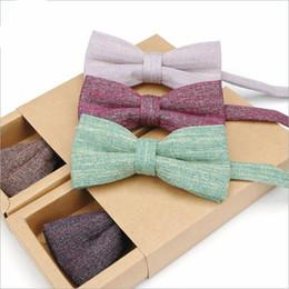 Los hombres de moda color sólido Bowties Boda mejor hombre novio pajaritas hombres collares negocios accesorios de moda desde fabricantes