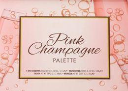 2019 paleta de vacaciones Lorac champán rosa Holiday Mega PRO Champagne Palette 4 Sombra de ojos / Blush / Highlighter / Bronzer Cheek Palette Edición limitada gratis dhl rebajas paleta de vacaciones