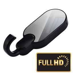 Sécurité invisible de la caméra en Ligne-Crochet de vêtements mini caméra IP P2P 1080P WIFI crochet DVR avec vision nocturne invisible Sécurité à la maison Cam surveillance sans fil CCTV caméra Noir