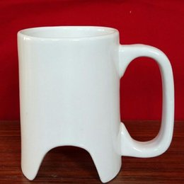 Wholesale Golf Mug - Mugs Two color beer mug Ceramic Biscuits cup Two tone relief Golf cup free shipping no1
