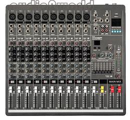 Wholesale Audio Mixing Console - Wholesale- Professional Audio Mixer 10 Channels Mixing Console YA1000 Mezcladora De DJ