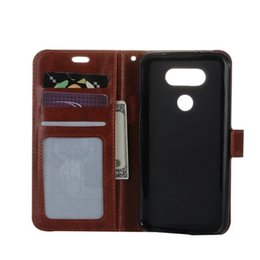 Wholesale X5 Green - New style Wallet leather PU TPU Hybrid Soft Case Folio Flip Cover For LG X5 G5 K10 for Moto G4 Play with Package