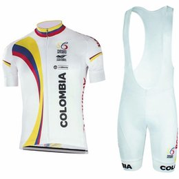 Wholesale Mens Bicycle Wear - New arrival colombia cycling jerseys gel pad bike shorts Ropa Ciclismo quickdry summer Breathable mtb bicycle wear mens Maillot Culotte C298