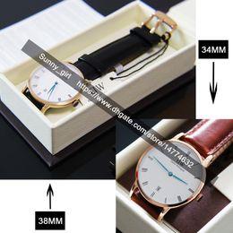 Wholesale Men Watch 38mm - Best Quality 34mm & 38mm Calendar Men Women Watch