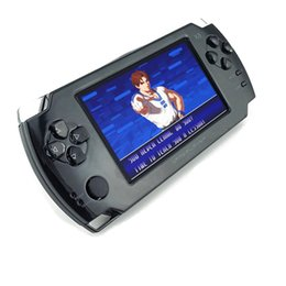 Wholesale Console 3d - 2017 NEW HOT 4.3 Inch Touch 4GB Handheld Game Camera Console Classic Games Perfect Support PS1 GBA 3D etc Format Games