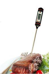 Wholesale Digital Lcd Probe Thermometer - Newest Cooking Thermometer TP101 Digital Stainless Cooking Instant Read Long Probe LCD Screen BBQ liquid kitchen milk
