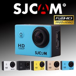 """Wholesale Optical Cable Camera - SJCAM SJ4000 Action Camera 1.5"""" Full HD 1080P Sports Action Video Cameras 170D Mini Camcorder with Battery USB Cable Accessories"""