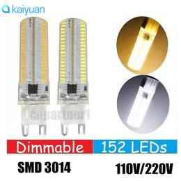 Wholesale Led Bulbs Lumens - led 15W Dimmable 152LEDs SMD 3014 Led Lights G4 G9 E12 E11 E17 E14 Led Corn Lights Bulbs Lamps High Lumens AC 110-240V light lighting