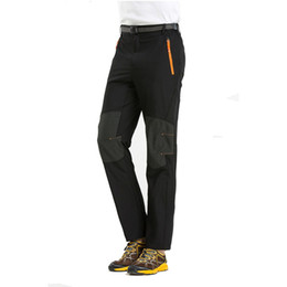 Wholesale Outdoor Pants Trekking - 4XL New Mens Summer Quick Dry Pants Male Outdoor Sport Waterproof Thin Hiking Pants Climbing Trekking Camping Trousers VA003 XX041