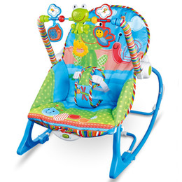 Wholesale Electric Baby Rocking - Baby Rocking Chair Musical Electric Swing Chair High Quality Vibrating Bouncer Chair Adjustable Kids Recliner Cradle Chaise Accessories