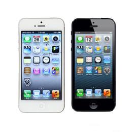 Wholesale Original Apple Accessories Wholesale - Refurbished Iphone Iphone 5 i5 Original Screen IOS Smart Phone 4.0Inch 32G ROM Unlocked Cell Phones