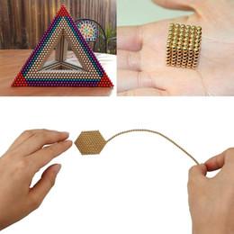 Wholesale Puzzle Bead - 216pcs 3mm Magic Magnetic Balls Puzzle Spheres Beads Cube Children Kids DIY Gift