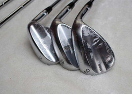 "Wholesale 54 Wedge - Brand New SM6 Wedge Satin SM6 Golf Wedges Golf club Clubs sets 50'' 52"" 54"" 56"" 58"" 60"" Degree With steel shafts set"