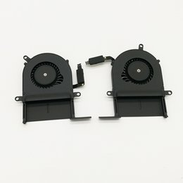 Wholesale test cooling - Testing 100% good 2012 laptop cooling fan for macbook pro 13'' Retina A1425 CPU Cooling Fan Left and right cooler
