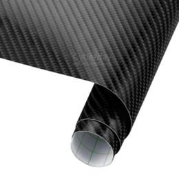involucro d'aria da 3 metri Sconti 100mm X 1520mm fai da te car styling 4d addensare 3 m auto in fibra di carbonio vinile wrapping film adesivi per auto impermeabile con aria libero bolle