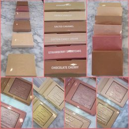 Wholesale Free Color Samples - 2017 New Kylie Cosmetics Highlighters Kylighters In Banana Split Kylighter kylie eyeshdow free ship for sample test
