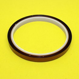 Wholesale Wholesale Brown Tape - Wholesale- TL-112 8mm brown High temperature adhesive tape Gold finger Ultra high temperature resistant rubber