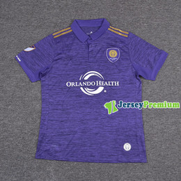 Wholesale MLS Orlando City Home Football Soccer Jerseys Purple Shirt KAKA SHEA LARIN NOCERINO