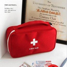 Wholesale Emergency Survival Bag - Outdoor First Aid Emergency Medical Kit Survival bag Wrap Gear Hunt Travel Storage Bag medicine kit