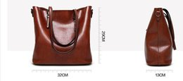 Wholesale Wax Dress For Women - Teridiva Brand Vintage Tote Bags for Women Shoulder Bag Large Famous Designer Women's Handbags Oil Wax Leather Bag Ladies Bolsas