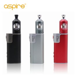 Wholesale Top E Cig Tanks - 2017 Original Aspire Zelos 50W Kit with 2ML Top-fill Nautilus 2 Tank and Zelos 50W TC Box Mod 2500mah first stock E-cig Factory