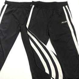 Wholesale Free Pattern Women Trousers - 15FW Palace x Ad Trousers Black And White Stripe Pattern Pants Men Women Sports Pants Fashion Sweatpants HFXYKZ006