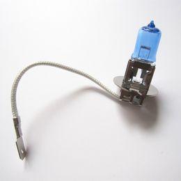 Wholesale H3 Halogen - 2pcs H3 12V 100W Super White Fog Halogen Bulb Car Headlight Car Halogen Light Source