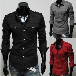 Where to Buy Mens Shirt Double Pockets Online? Buy Mens Shirt ...