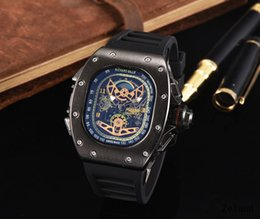 Wholesale Cheap Quality Watches Men - RICHAR Quartz Big Bang hot man date brand new drop shipping Mechanical cheap High quality master men watch luxury sports Men's Watches RM001