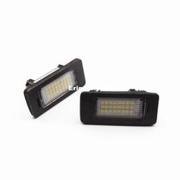 Wholesale E84 Bmw X1 - 2 PCs Error Free 24 LED White License Number Plate Light Lamp For BMW E81 E82 E90 E91 E92 E93 E60 E61 E39 X1 E84 Brand New