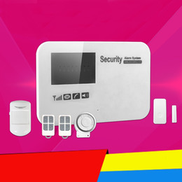 Wholesale Auto Dialer Wireless Home Security - CE Quality GSM Wireless PIR Home Security Burglar Alarm Systems Auto Dialing Dialer SMS Call keypad with Android IOS APP