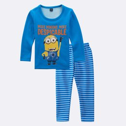 Wholesale Baby Santa Claus Suit - Baby Boy Kid Santa Claus Sleepwear Pajama Set Size 2T-7 fashion winter boys and girls brushed pajamas suit