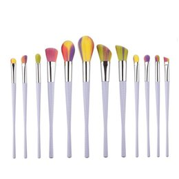 Wholesale Vip Kit - Good quality 12pcs makeup brush suit makeup tool small waist powder paint free shipping DHgate vip seller