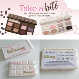 Wholesale Too Faced Makeup eyeshadow palette Matte Chocolate Chip And White Chocolate Chip color eye shadow