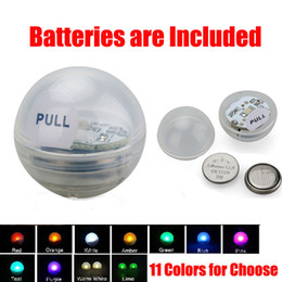 Wholesale 11 Emergency - Battery Operated Powered LED Fairy Pearls Lights Mini LED Party Light for Wedding Party Decoration 11 Colors
