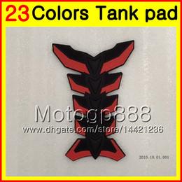 Wholesale Cap Cbr - 23Colors 3D Carbon Fiber Gas Tank Pad Protector For HONDA CBR500R 11 12 13 14 CBR500 R CBR 500 R CBR 500R 2011 2012 2013 3D Tank Cap Sticker