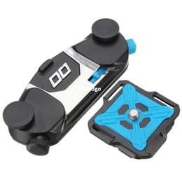 Freeshipping новый универсальный алюминиевый пояс штатив крепление клип адаптер для GoPro Hero 4 3+ 3 2 для Xiaomi Yi DSLR зеркальные видеокамеры от