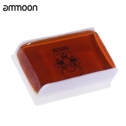 Wholesale Universal Resin - Wholesale- High-class Transparent Rosin Resin Colophony Low Dust Universal for Bowed String Musical Instruments Violin Viola Cello Erhu