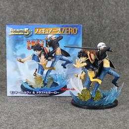 Wholesale Trafalgar Law Toys - One Piece Luffy Trafalgar Law 5th Anniversary PVC Action Figure Anime Collectible Model Toy 16cm Doll