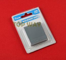 2019 spielkartenadapter SD Flash WISD Speicherkarte für Wii Adapter Konverter Adapter Kartenleser für Wii GC GameCube Game Console rabatt spielkartenadapter