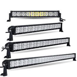 """Wholesale Led Light Bar Truck 32 - 22"""" 32"""" 42"""" 52"""" 7D LED Light Bar Offroad Straight Combo Beam 12v 24v Cross DRL Led Bar for Truck Trailer Boat 4X4 4WD ATV SUV RZV"""