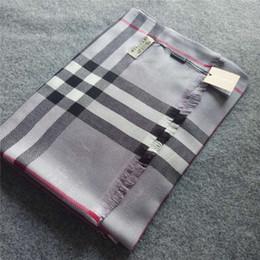 diseños de poncho Rebajas Nueva marca bufanda de alta calidad para mujer paild diseño bufanda tamaño 180x70 cm moda mujer bufandas sin caja RT-6984