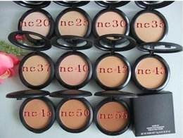 Wholesale Pressed Powder Plus Foundation - Free Shipping MAKEUP Lowest first NEW Studio fix powder plus foundation 15g ( 12 pcs lot)