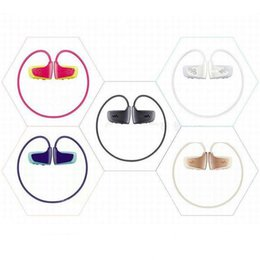 Wholesale Earphone Speaker Headphones - Wholesale NWZ-W262 8GB Sport Mp3 Muisc Player for Sony Walkman Earphones Build in Speaker MP3 8GB Headphones free shipping