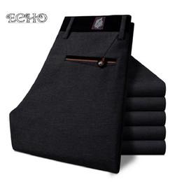 Wholesale Korean Sweats - Wholesale- New Brand Elasticity Mens Pants Suit Korean Version Joggers Mens Sweat Pants Long Casual Pants Slim Fit Men Trousers Sarouel