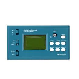 Canada Livraison gratuite LCD osciloscopio fréquencemètre diy kit d'oscilloscope numérique Sonde BNC professionnelle Interface USB DSO 20MSa / s 3MHz oszilloskop Offre