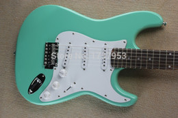 Wholesale Guitar Body Green - Free Shipping Factory Custom Shop 2015 new Best Price Light green F ST electric guitar 1110 stratocaster